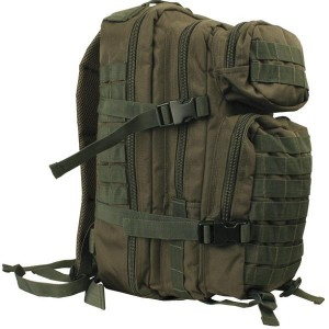 Small molle assault pack_olive green