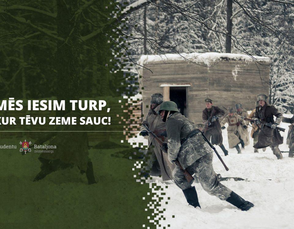 Strēlnieki, ziemas kaujas